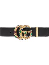 Gucci Embellished Gg Buckle Belt 60