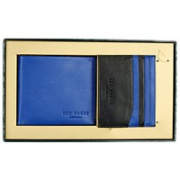 Ted Baker Wallet And Card Holder Gift Set Blue