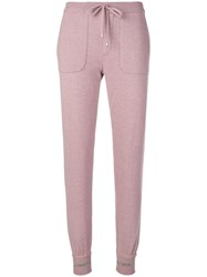 Lorena Antoniazzi Casual Trousers Pink And Purple