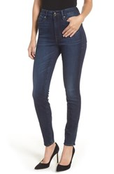 Good American Plus Size Waist Skinny Jeans Blue 188