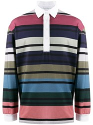 J.W.Anderson Jw Anderson Striped Rugby Jersey Polo Shirt Multicolour