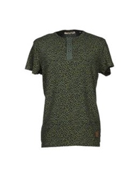 Anerkjendt T Shirts Military Green