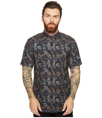 Publish Jovani Floral Button Down Black Men's Clothing