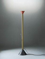 Artemide Callimaco Floor Lamp A011105 Led Red Yellow