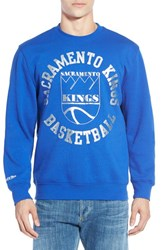 Men's Mitchell And Ness 'Sacramento Kings' Tailored Fit Crewneck Sweatshirt