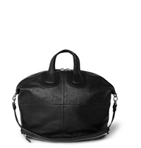 Givenchy Nightingale Textured Leather Tote Black
