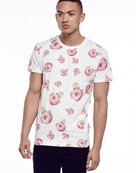 Eleven Paris Homer Donut Aop T Shirt