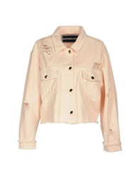Marco Bologna Denim Outerwear Light Pink