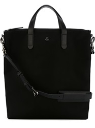 Mismo Top Zip Tote Black