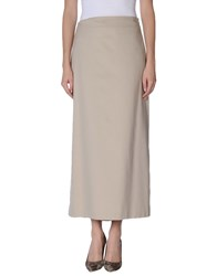 Philosophy Di Alberta Ferretti Skirts Long Skirts Women Beige
