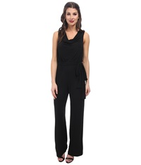 Rsvp Erin Cowl Neck Jumpsuit Black Multi Women's Jumpsuit And Rompers One Piece