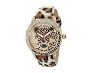 Betsey Johnson Bj00475 02 Leopard Gold Crystal Watches Animal Print