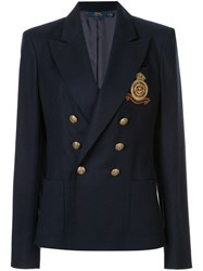 Polo Ralph Lauren Double Breasted Blazer Blue