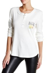 The Laundry Room Powder Thermal Shirt White