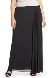 Alex Evenings Plus Size Women's Chiffon Maxi Skirt