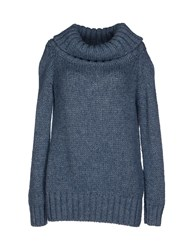 Lo Not Equal Knitwear Turtlenecks Women Grey