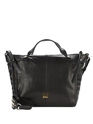 Kooba Liv Leather Satchel Black