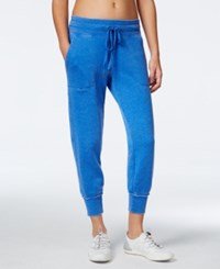 Calvin Klein Performance Soft Cropped Sweatpants Fusion Blue