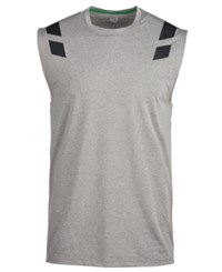 e4bfbbabd3d66 Ideology Id Shoulder Graphic Sleeveless T Shirt Grey