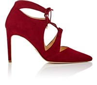 Chelsea Paris Women's Kani Suede Ankle Boots Red