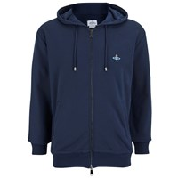 Vivienne Westwood Man Men's Classic Zip Up Hoody Navy