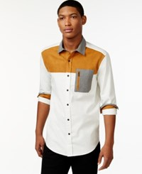 Sean John Colorblocked Shirt