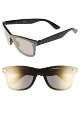 Topman 'Flash' Sunglasses Black
