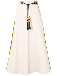 Peter Pilotto Palazzo Trousers Nude And Neutrals