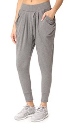 Michi Imperial Harem Pants Heather Grey
