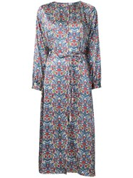 H Beauty And Youth Floral Print Shirt Dress