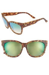 Electric Eyewear Women's 'Danger Cat' 58Mm Cat Eye Sunglasses Pineapple Tortoise Green Pineapple Tortoise Green