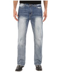 Rock And Roll Cowboy Double Barrel In Light Vintage M0d6631 Light Vintage Men's Jeans Blue