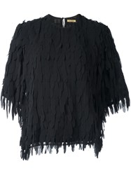 Peter Jensen 'Petal' Blouse Black