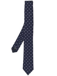 Paoloni Patterned Tie Blue
