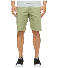 Rvca The Week End Stretch Shorts Cadet Green Men's Shorts
