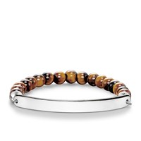 Thomas Sabo Love Bridge Tiger S Eye Bracelet Brown