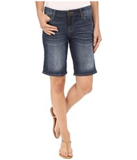 Kut From The Kloth Catherine Boyfriend Shorts In Joyful Joyful Women's Shorts Blue