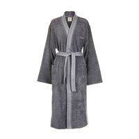 Calvin Klein Riviera Charcoal Bathrobe Grey
