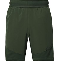 Nike Training Flex Tech Pack Ripstop Panelled Stretch Jersey Shorts Green