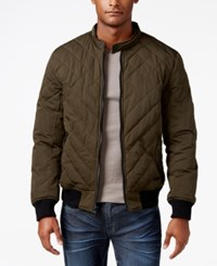 Guess Men's Adriel Quilted Jacket Open