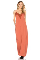 House Of Harlow X Revolve Michelle Maxi Rust