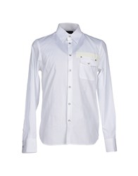 Diesel Black Gold Shirts Shirts Men White