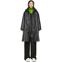 Ienki Ienki Black Down Pyramid Raincoat