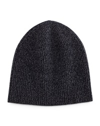 Ribbed Cashmere Beanie Navy Navy Vince