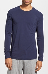 Ugg 'Fergus' Long Sleeve T Shirt Peacoat