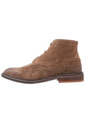 Hudson H By Rayden Laceup Boots Tobacco Light Brown