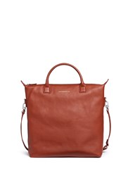 Want Les Essentiels 'O'hare' Leather Tote Bag Brown