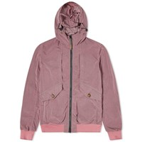 Baracuta X Sebago Four Pocket Gd Nylon Jacket Pink