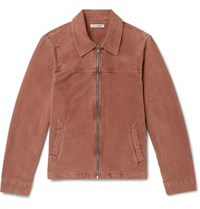 Our Legacy Cotton Moleskin Jacket Taupe