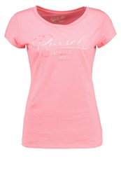 Russell Athletic Print Tshirt Pink